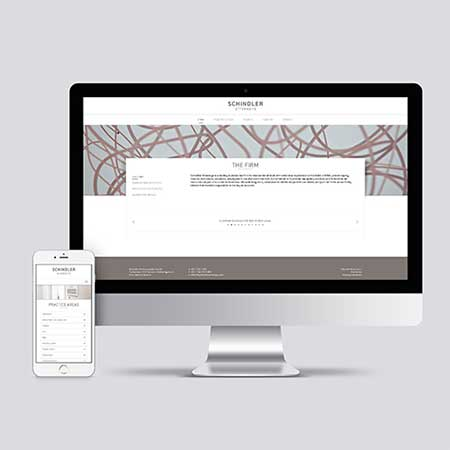 Schindler Attorneys - Design | Web